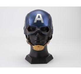 Killerbody Captain America Wearable Helmet 1/1 Life Size Replica Upgrade Version (Base Excluded)