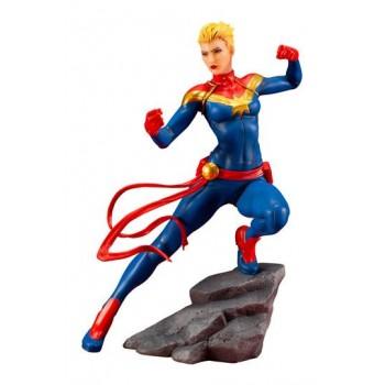 Marvel Universe Avengers Series ARTFX+ PVC Statue 1/10 Captain Marvel 17 cm