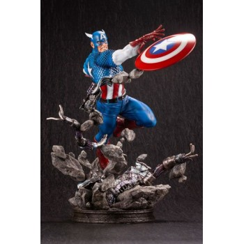 Marvel Comics Fine Art Statue 1/6 Captain America 36 cm
