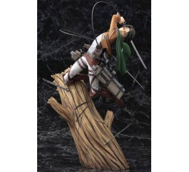 Attack on Titan ARTFXJ Statue 1/8 Levi Renewal Package Ver. 28 cm