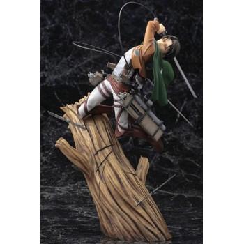 Attack on Titan ARTFXJ Statue 1/8 Levi Renewal Package Ver. 28 cm