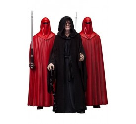 Star Wars PVC Statue 3-Pack 1/10 Emperor Palpatine & The Royal Guards 18 cm