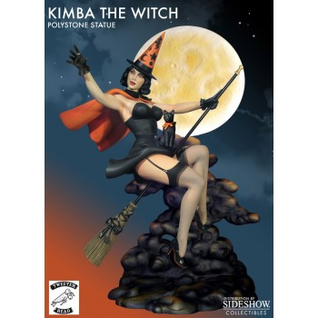 Kimba the Witch Statue1/7 Happy Halloween 30 cm