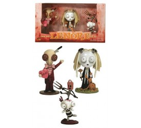 Lenore PVC Figure Series 1 3-Pack Giftbox 10 cm