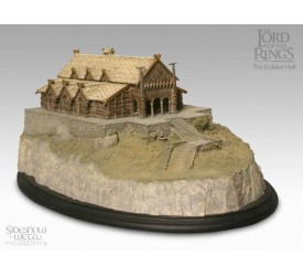 Lord Of The Rings Statue The Golden Hall Environment 14 cm