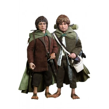 Lord of the Rings Action Figure 2-Pack 1/6 Frodo and Sam 20 cm
