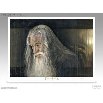 Lord of the Rings Fine Art Print Giclee Gandalf 56 x 43 cm