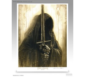 Lord of the Rings Fine Art Print Giclee Ringwraith 43 x 56 cm