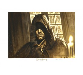 Lord of the Rings Fine Art Print Giclee Strider 43 x 56 cm