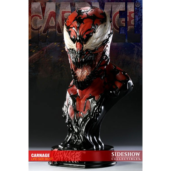 Carnage Mini Bust - Marvel Collectible Bust Statue Carnage ...  |Carnage Bust