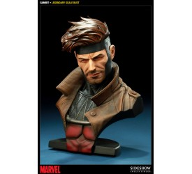 Marvel Legendary Scale Bust Gambit 33 cm