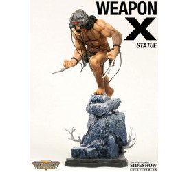 Marvel Statue Weapon X Lab Wired 36 cm