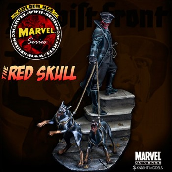 Marvel Universe Miniature Model Kit 1/27 Red Skull 70 mm