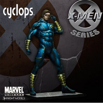 Marvel Universe Miniature Model Kit 1/27 Cyclops 70 mm