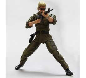 Metal Gear Solid Play Arts Kai Vol. 4 Action Figure Miller 23 cm