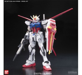 Mobile Suit Gundam Seed Model Kit Real Grade GAT-x105 Aile Strike 13 cm