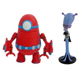 Monsters Vs Aliens Mini Figure 2-Pack C