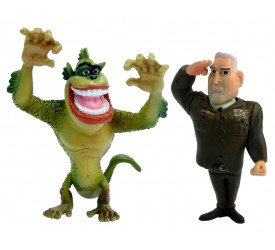 Monsters Vs Aliens Mini Figure 2-Pack D