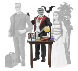 Munsters Select Action Figure Grandpa 18 cm
