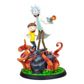Rick and Morty: Rick and Morty Statue