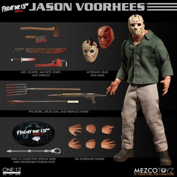 Картинки по запросу One:12 Collective Figures - Friday The 13th - Jason Voorhees (Part III)