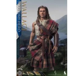 Mirage Hack and Twelve O'clock 1/6 Scottish Hero Wallace Action Figure