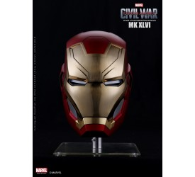 Marvel Iron Man MK46 1/1 Scale Limited Edition Helmet Metal Brushed Version