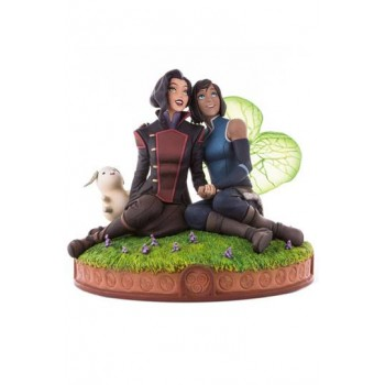 The Legend of Korra Statue Korra and Asami in the Spirit World 22 cm