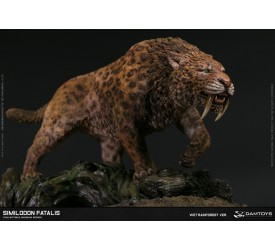 DAMTOYS MUSEUM SIMILODON FATALIS COLLECTIBLE STATUE WET RAINFOREST VERSION