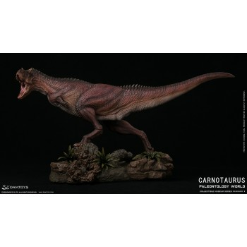Museum Series Carnotaurus Scenes Collectiblelevel Statue Red Exclusive Edition