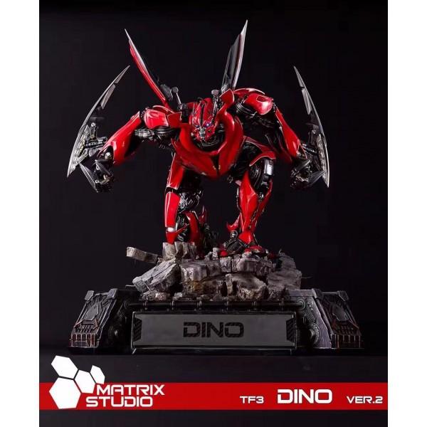 Transformers 3 dino statue version 2 0 - Dinosaure transformers ...
