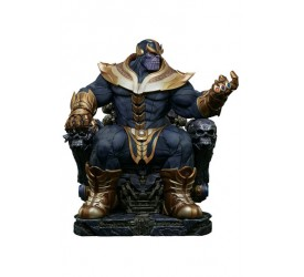 Marvel Comics Maquette Thanos on Throne 54 cm