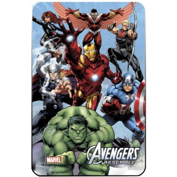Marvel Comics Steel Covers Metal Plate Avengers 17 x 26 cm