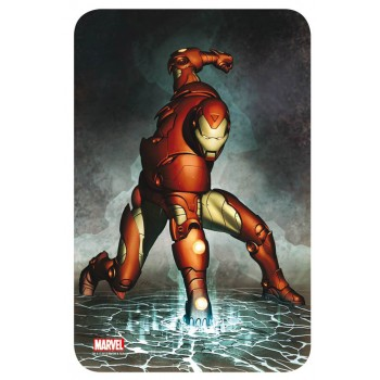 Marvel Comics Steel Covers Metal Plate Iron Man 17 x 26 cm
