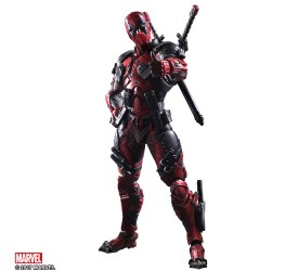 Marvel Comics Variant Play Arts Kai Action Figure Deadpool 27 cm