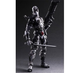 Marvel Comics Variant Play Arts Kai Action Figure Deadpool X-Force Version 27 cm