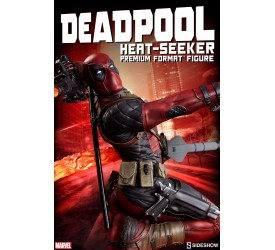 Marvel Deadpool Heat-Seeker Premium Statue 61 cm