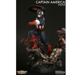 Marvel Statue Captain America Action 36 cm