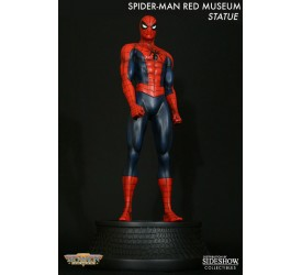 Marvel Statue Spider Man Red Museum statue 30cm