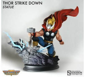 Marvel Statue Thor Strike Down 38 cm