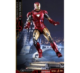 Marvel The Avengers Movie Masterpiece Diecast Action Figure 1/6 Iron Man Mark VI 32 cm