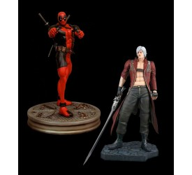 Marvel vs. Capcom 3 Statue 1/4 2-Pack Dante vs. Deadpool 50 x 51 cm