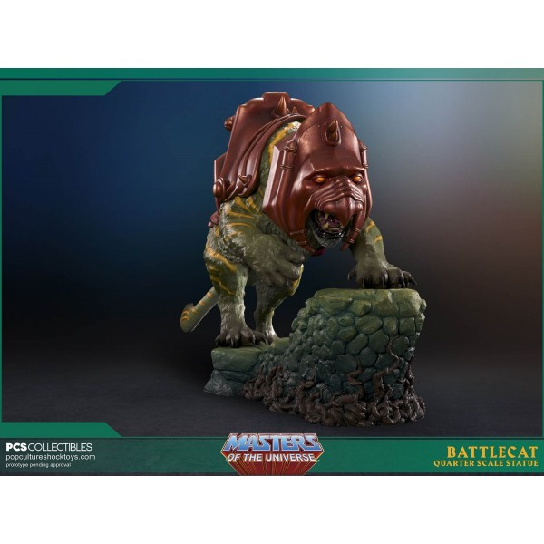 Masters Of The Universe Battle Cat 1 4 Scale Statue 35 Cm