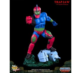 Masters of the Universe Trapjaw 1/4 scale Statue