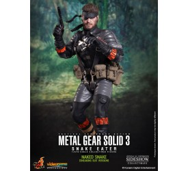 Metal Gear Solid 3 Videogame Masterpiece Action Figure 1/6 Naked Snake (Sneaking Suit Version) 30 cm