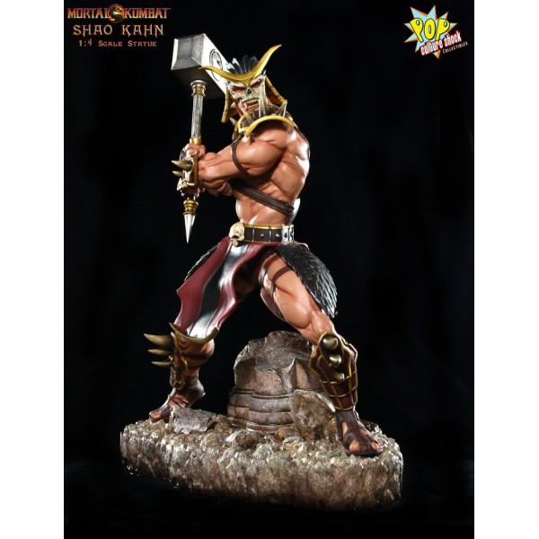 Mortal Kombat 9 Shao Kahn 1 4 Scale Statue