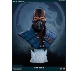 Mortal Kombat X Sub-Zero Lifesize Bust Retail Version