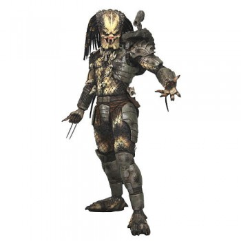 NECA Predators Action Figure 1/4  UnMasked Closed Mouth  45cm