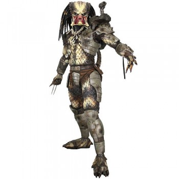 NECA Predators Action Figure 1/4  UnMasked Opened Mouth  45cm