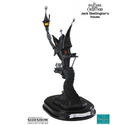Nightmare Before Christmas Statue Jack Skellingtons House Surreal Estate 32 cm